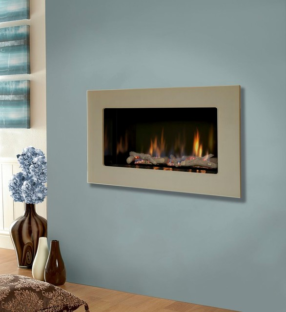 Kinder Atina He Gas Fire Modern Fireplaces Other