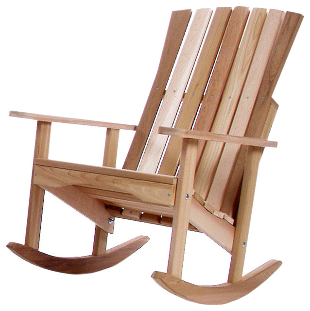 CEDAR Porch Rocking Chair Traditional Outdoor Rocking