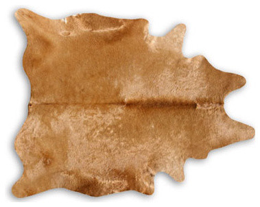 Pure&trade; Rugs Caramel Natural Cowhide modern rugs