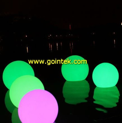 Colorful Light Ball modern-outdoor-holiday-decorations