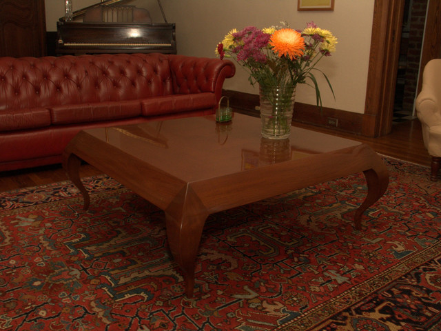 cabriol coffee table eclectic-coffee-tables