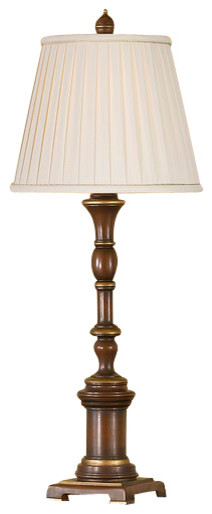 Autumn Brown Lamp contemporary-table-lamps