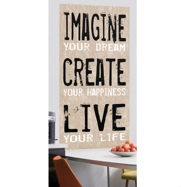 Imagine Create Live Wall Canvas contemporary-wall-decals