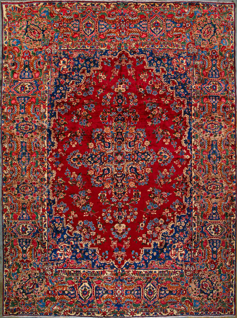 Authentic Persian Rugs Yazd Rug Tropical Home Decor