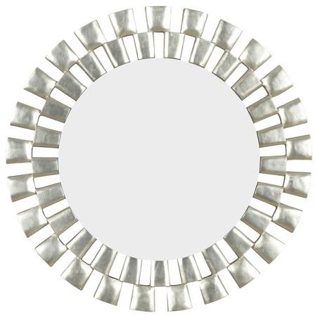 Gilbert Wall Mirror in Silver modern-home-decor