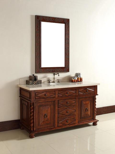 "60"" Continental Single Bath Vanity traditional"
