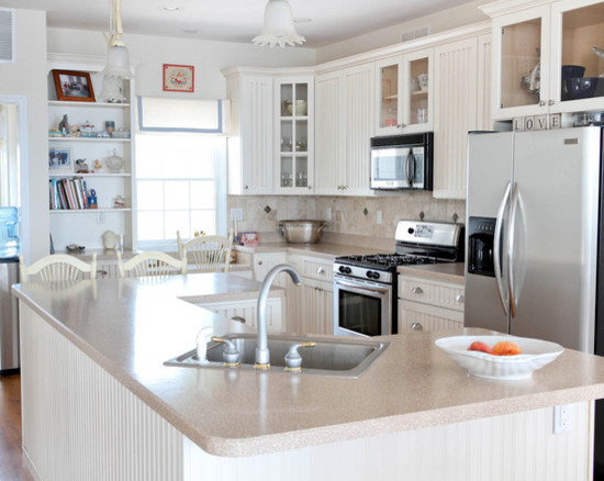 Cape Cod Style House Beach Style Kitchen Other Metro