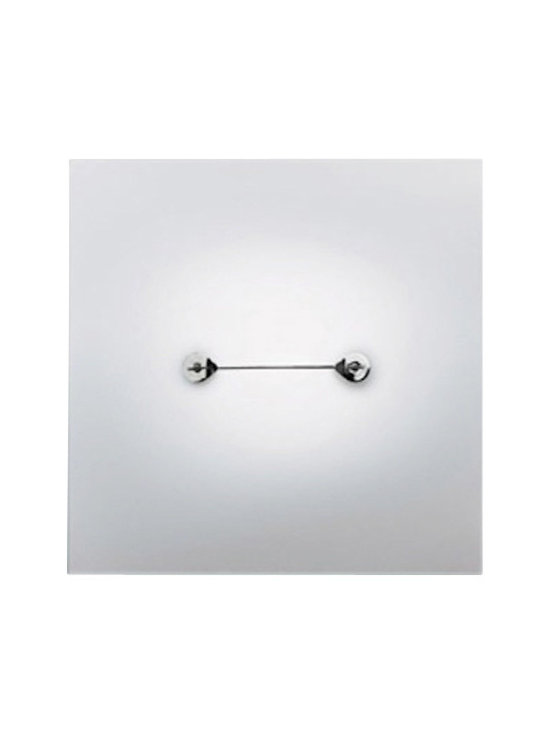 Tango Lighting - Tango Lighting Top, Square - Ceiling lamp in polished chrome finish with flat, toughened matte glass. Have a look at it, and discover the charm in this simple ceiling piece. This modern ceiling light focuses great attention on creativity and taste of innovation, out of the ordinary, and with highest care for details both of design and of functionality. A perfect addition to your home furniture collection, with class and elegance. With its modern look and feel, it can easily complement your existing decor. Ideal for living room lighting, bedroom lighting, office lighting, dining room lighting, kitchen lighting, restaurant lighting, and more.