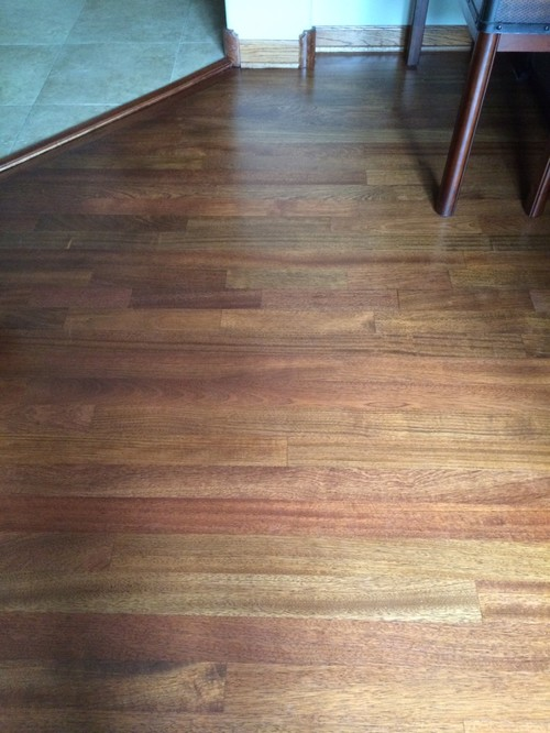 Pictures Of My Stained Brazilian Cherry Floor