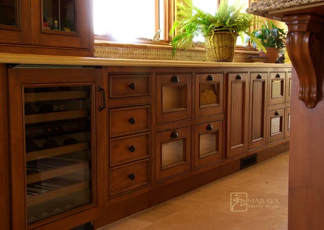 Distressed kitchen cabinets farmhouse kitchen santa barbara by