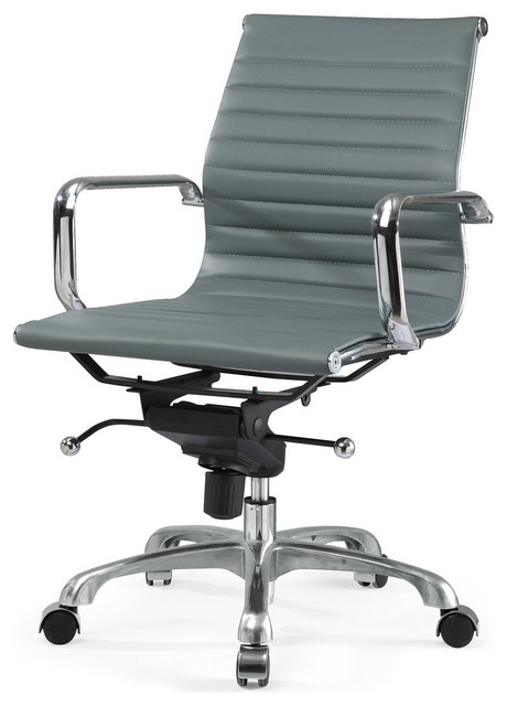 M344 Eames Style Office Chair Dark Grey Modern Office Chairs