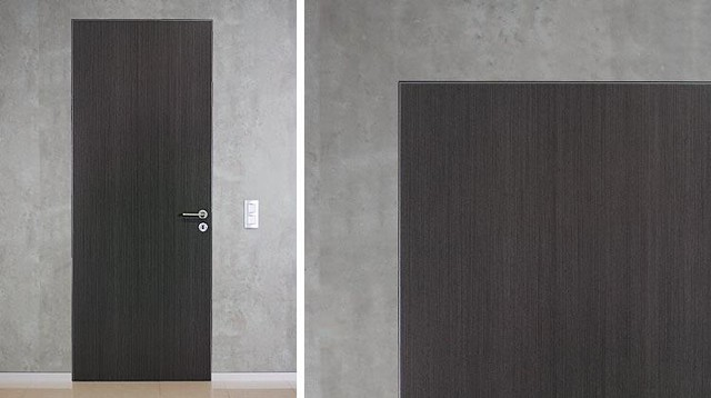 Modern interior doors for Modern door casing