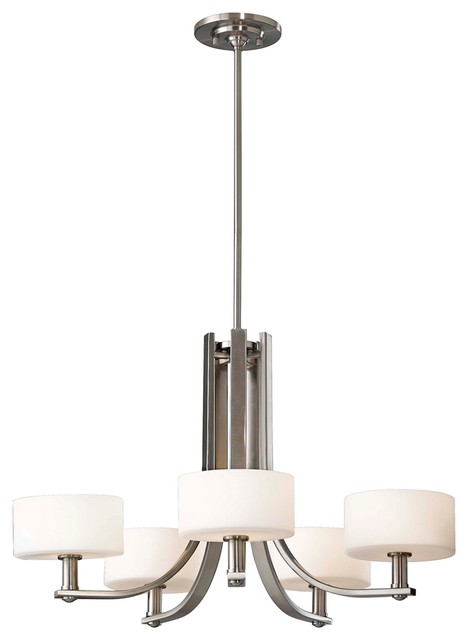 Contemporary Murray Feiss Sunset Drive 26 3/4&quot; Wide Chandelier contemporary chandeliers