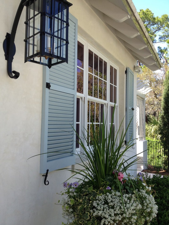 all about windows - charleston exterior shutter - exterior louvered shutter