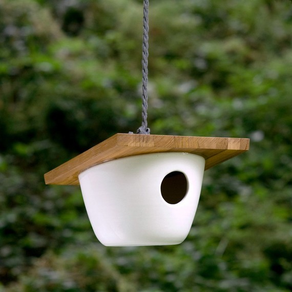 Scan Birdhouse by Pigeon Toe contemporary-birdhouses