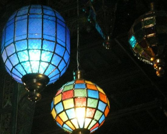 Unique Lighting - Moroccan inspired chandeliers