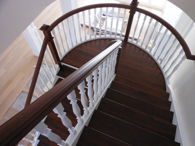 Custom Staircases traditional staircase