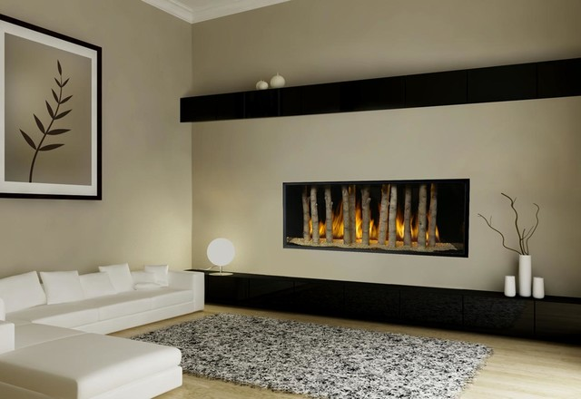 Fpx Xtreme 6020 Linear Greensmart Gas Fireplace Modern