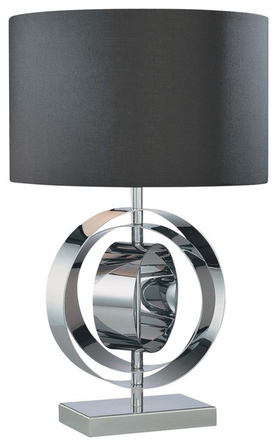 Black And Copper Lamp Shade