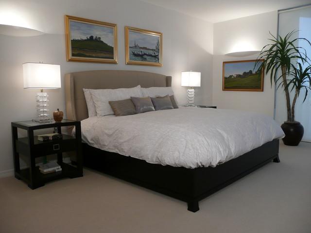 Michael Segal eclectic-bedroom