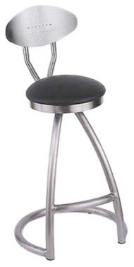 Holland Alpha 30 in. Swivel Bar Stool contemporary-bar-stools-and-counter-stools