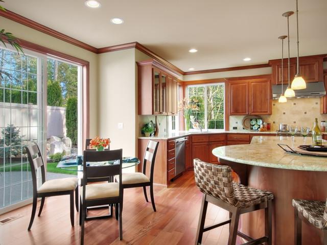 Aspen Ridge lot 17 Kitchen & Dining Nook traditional-kitchen