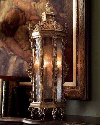 John-Richard Collection Gothic Tall Table Lantern - traditional ...