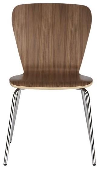 Felix Walnut Side Chair modern-dining-chairs