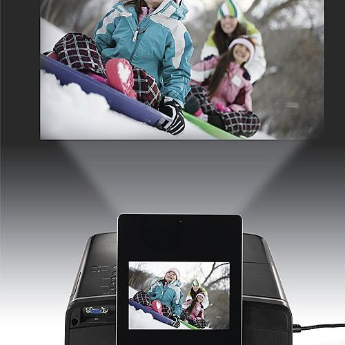 Epson Portable Digital Projector for iPad, iPod and iPhone - Frontgate modern-home-electronics
