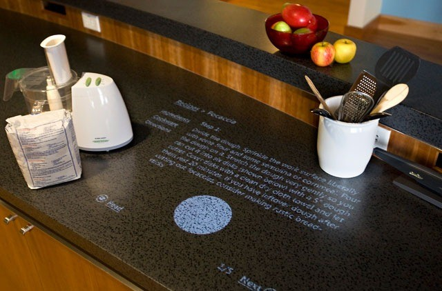 Microsoft Home Test Kitchen Interactive Projector