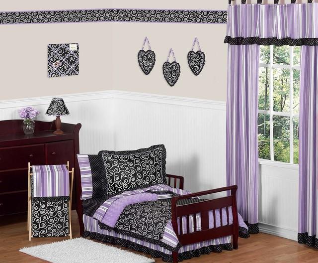 Kaylee 5-Piece Toddler Bedding Set by Sweet Jojo Designs traditional-kids-bedding