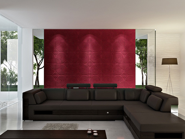 3D WALL PANELS(Circles) modern accessories and decor