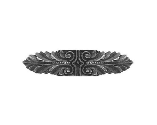 """Inviting Home - Opulent Scroll Pull (antique pewter) - Hand-cast Opulent Scroll Pull in antique pewter finish; 3-3/4""""W x 7/8""""H; Product Specification: Made in the USA. Fine-art foundry hand-pours and hand finished hardware knobs and pulls using Old World methods. Lifetime guaranteed against flaws in craftsmanship. Exceptional clarity of details and depth of relief. All knobs and pulls are hand cast from solid fine pewter or solid bronze. The term antique refers to special methods of treating metal so there is contrast between relief and recessed areas. Knobs and Pulls are lacquered to protect the finish. Detailed Description: The Opulent Scroll pulls add an amazing focus to any drawers or cabinets - it will make them look regal and majestic. The absolute perfect place for these pulls to be used is in the dining room on your china closet. They are great pulls to use if you are trying to punch up an antique piece of furniture or cabinet. You should consider using the Opulent Scroll pulls in combination with the Opulent Flower knobs or wood knobs with flower."""