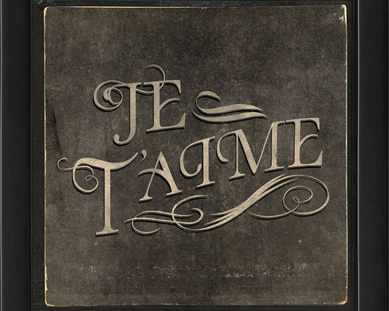 "The Artwork Factory - ""Je t'aime"" Print - Get a little love in your heart — and on your wall — with this high quality print. The black wooden frame is beveled for extra detail and comes ready to hang in any room you love."
