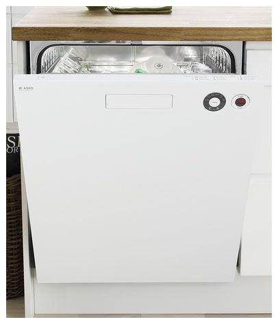 Asko Ada Compliant Tall Tub 6 Wash Cycle Dishwasher, White | D5424XLW dishwashers