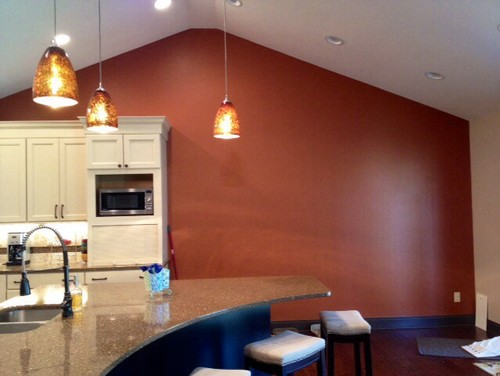 Large blank kitchen wall for What to do with a blank wall