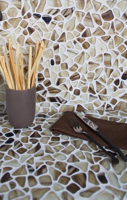 Riva Del Mar Glass Mosaic TIles mediterranean