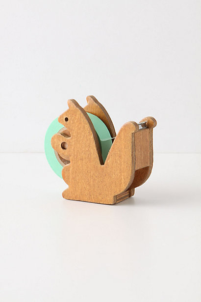Squirreled Away Tape Dispenser contemporary desk accessories