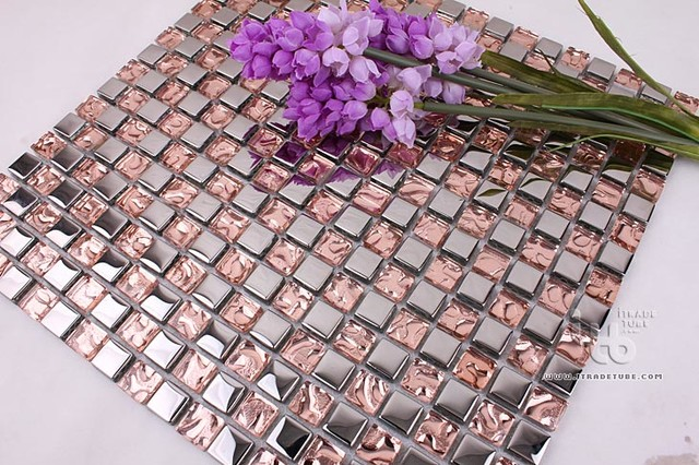 Stainless steel+Glass Series IMGHC-086 modern-tile