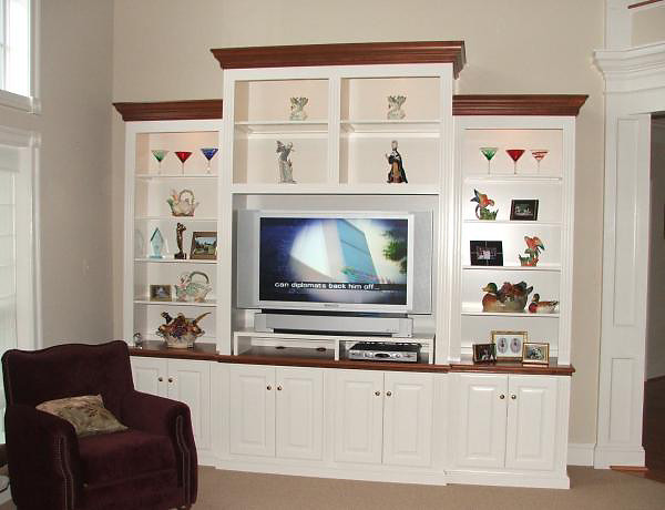 Painted White/Stain Wood Mouldings traditional