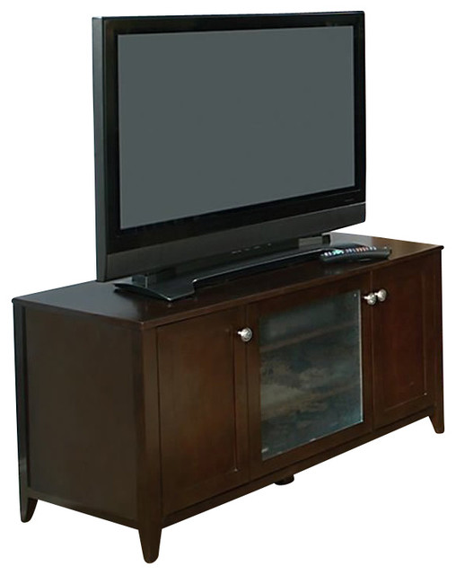 """Kathy Ireland by Bush Grand Expressions 47"""" TV Stand in Warm Molasses traditional-entertainment-centers-and-tv-stands"""