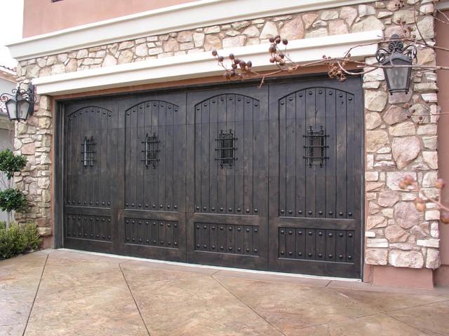 Knotty Alder Stain Custom Wood Door With Speakeasy Deco