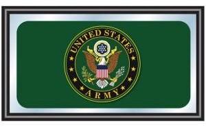 U.S. Army Symbol Framed Logo Mirror modern-mirrors