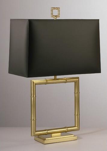 Jonathan Adler Meurice Table Lamp with Black Shade modern-table-lamps