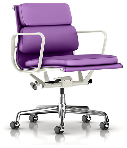 Eames Soft Pad Management Chair, Dream Cow Leather modern-task-chairs