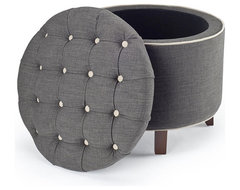 Reims Grey Storage Ottoman modern-footstools-and-ottomans