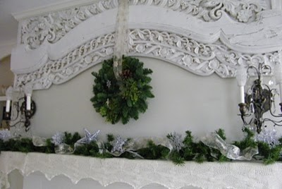 Christmas Mantle traditional