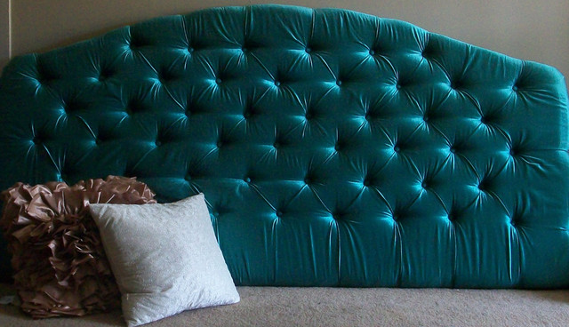 Custom Upholstered Headboard By Chic My Room eclectic-headboards