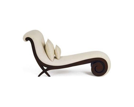 LOOSE FURNITURES - CUSTOMIZED UPHOLSTERED CHAISE LOUNGE