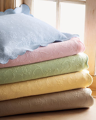 SFERRA Twin Coverlet traditional-quilts